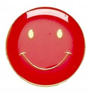 ButtonBadge20 Smile Red 20mm