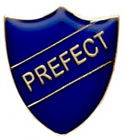 ShieldBadge Prefect Blue Blue 22 x 25mm
