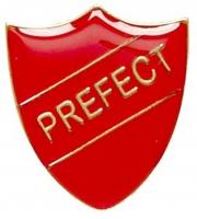 ShieldBadge Prefect Red 22 x 25mm