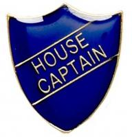 ShieldBadge House Captain Blue 22 x 25mm