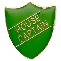 ShieldBadge House Captain Green Green 22 x 25mm