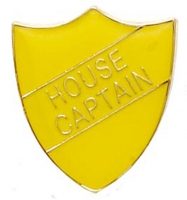 ShieldBadge House Captain Yellow 22 x 25mm