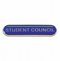 BarBadge Student Council Blue 40 x 8mm