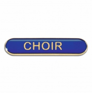 BarBadge Choir Blue Blue 40 x 8mm