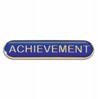 BarBadge Achievement Blue 40 x 8mm