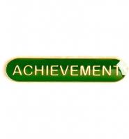 BarBadge Achievement Green 40 x 8mm