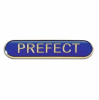 BarBadge Prefect Blue Blue 40 x 8mm