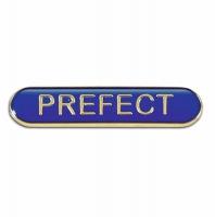 BarBadge Prefect Blue 40 x 8mm