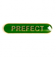 BarBadge Prefect Green Green 40 x 8mm