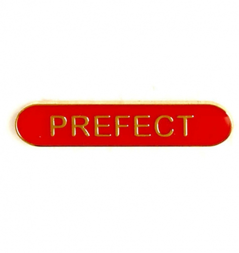 BarBadge Prefect Red 40 x 8mm