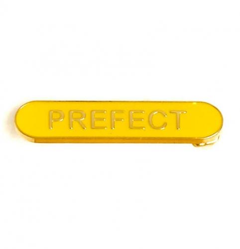 BarBadge Prefect Yellow 40 x 8mm