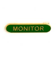BarBadge Monitor Green 40 x 8mm