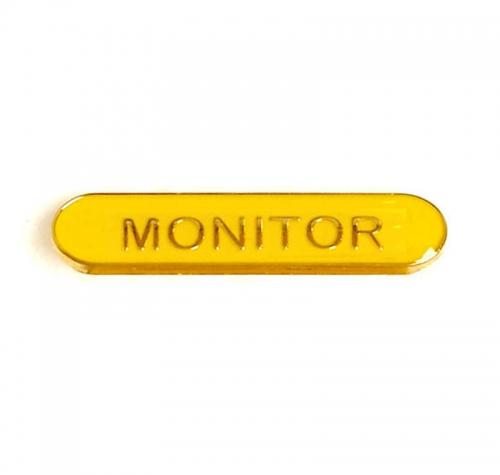 BarBadge Monitor Yellow 40 x 8mm