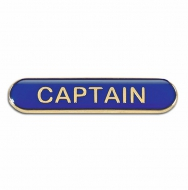 BarBadge Captain Blue Blue 40 x 8mm