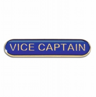 BarBadge Vice Captain Blue Blue 40 x 8mm