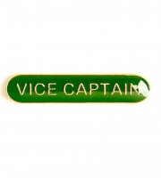 BarBadge Vice Captain Green 40 x 8mm