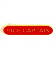 BarBadge Vice Captain Red Red 40 x 8mm
