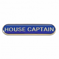 BarBadge House Captain Blue Blue 40 x 8mm