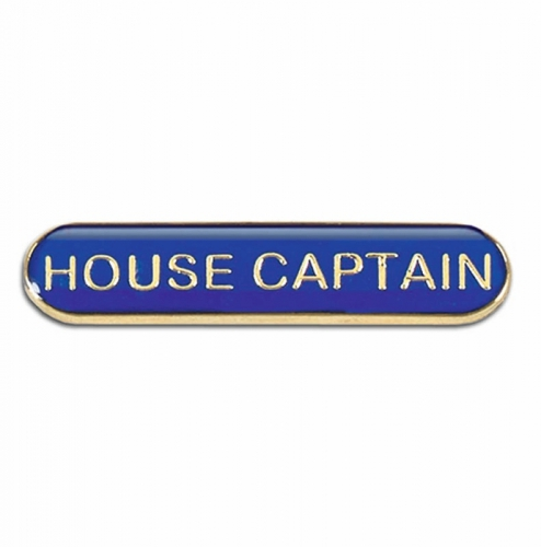 BarBadge House Captain Blue 40 x 8mm