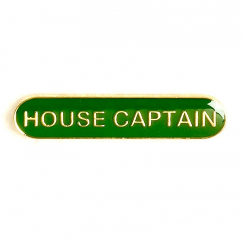 BarBadge House Captain Green 40 x 8mm