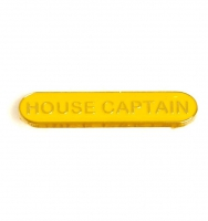 BarBadge House Captain Yellow Yellow 40 x 8mm