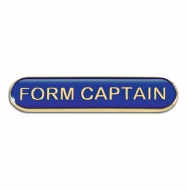 BarBadge Form Captain Blue Blue 40 x 8mm