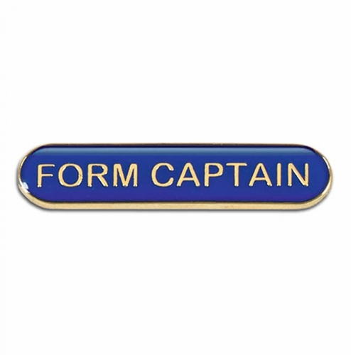 BarBadge Form Captain Blue 40 x 8mm