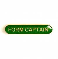 BarBadge Form Captain Green Green 40 x 8mm
