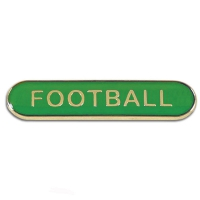 BarBadge Football Green Green 40 x 8mm