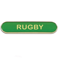 BarBadge Rugby Green Green 40 x 8mm