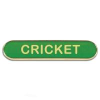 BarBadge Cricket Green 40 x 8mm