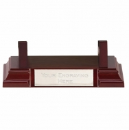 Wood Tray Stand Rosewood 117 x 80 x 180mm