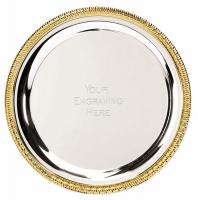 Vortex10 Salver Silver 10 Inch