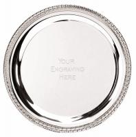 Sierra8 Salver Silver 8 Inch