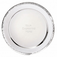 Apollo Presentation Salver Silver 4 Inch