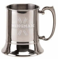 Vision Polished Tankard Stainless Steel 20oz