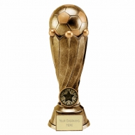 Tower Football Trophy Award Antique Gold 7.5 Inch (19cm) : New 2020