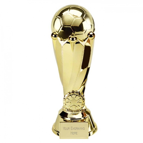 Tower Football Trophy Gold 9 Inch (23cm) : New 2019