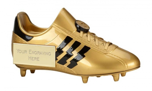 Tower Football Trophy Award Golden Boot 7.5 Inch (19cm) : New 2020