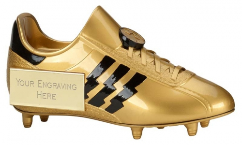 Tower Football Trophy Award Golden Boot 9 Inch (23cm) : New 2020