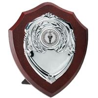 Triumph8 Silver Shield Rosewood/Silver 8 Inch