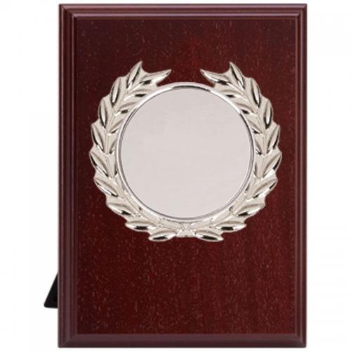 0153a2f2e62b0 W280CS : Devon Plaque Silver - Rosewood/Gold - 6 inch (15cm) - We ...