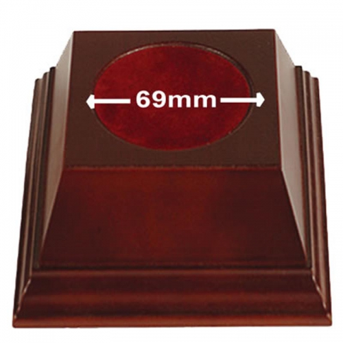Pyramid69 Wood Base Rosewood 69mm