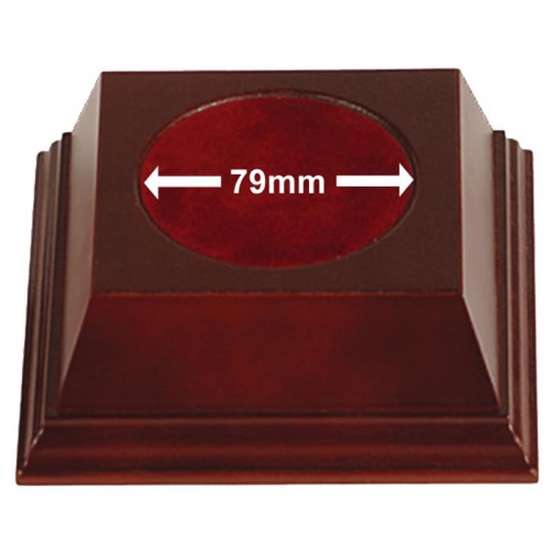 Pyramid79 Wood Base Rosewood 79mm