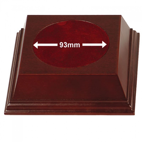 Pyramid93 Wood Base Rosewood 93mm
