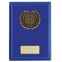 Event Blue Plaque Bold Blue 5 Inch