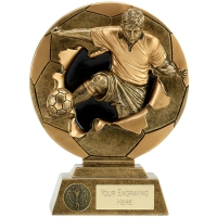 Xplode 2D Footballer Male Football Trophy