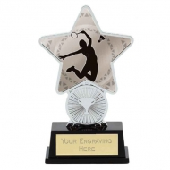 Badminton Trophy Award Superstar Mini Silver 4.25 Inch (10.5cm) : New 2020